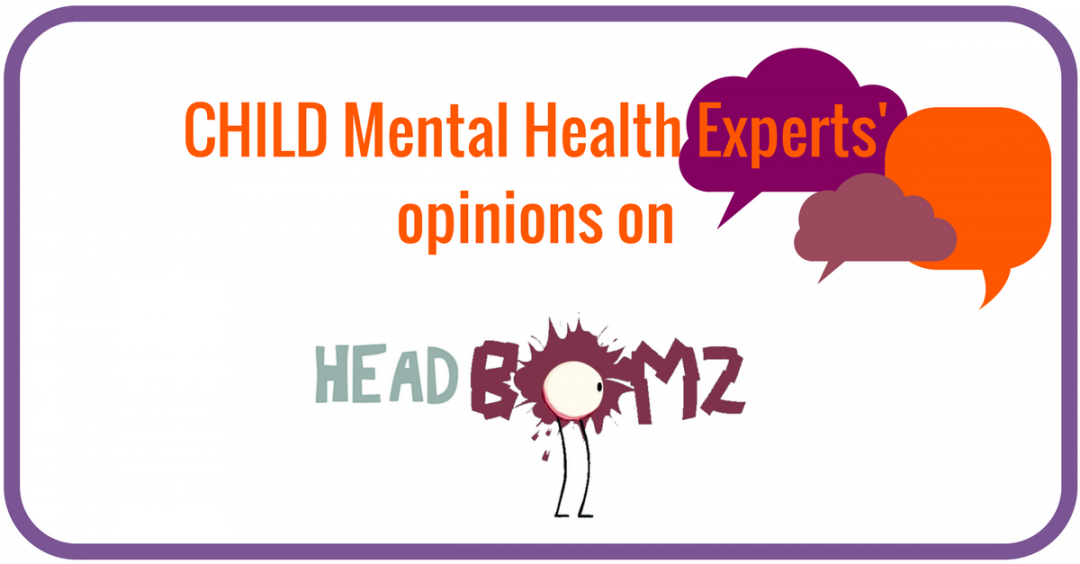 Opinions on ISPCC HEADBomz video from Child Mental Health Experts