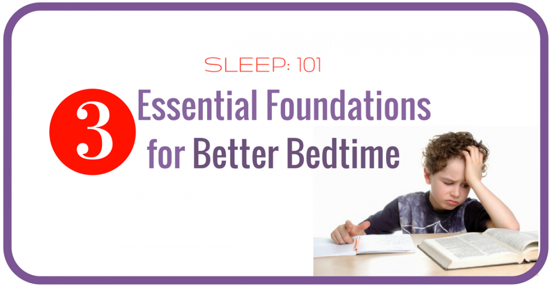 Sleep 101 – 3 essential foundations for good quality sleep