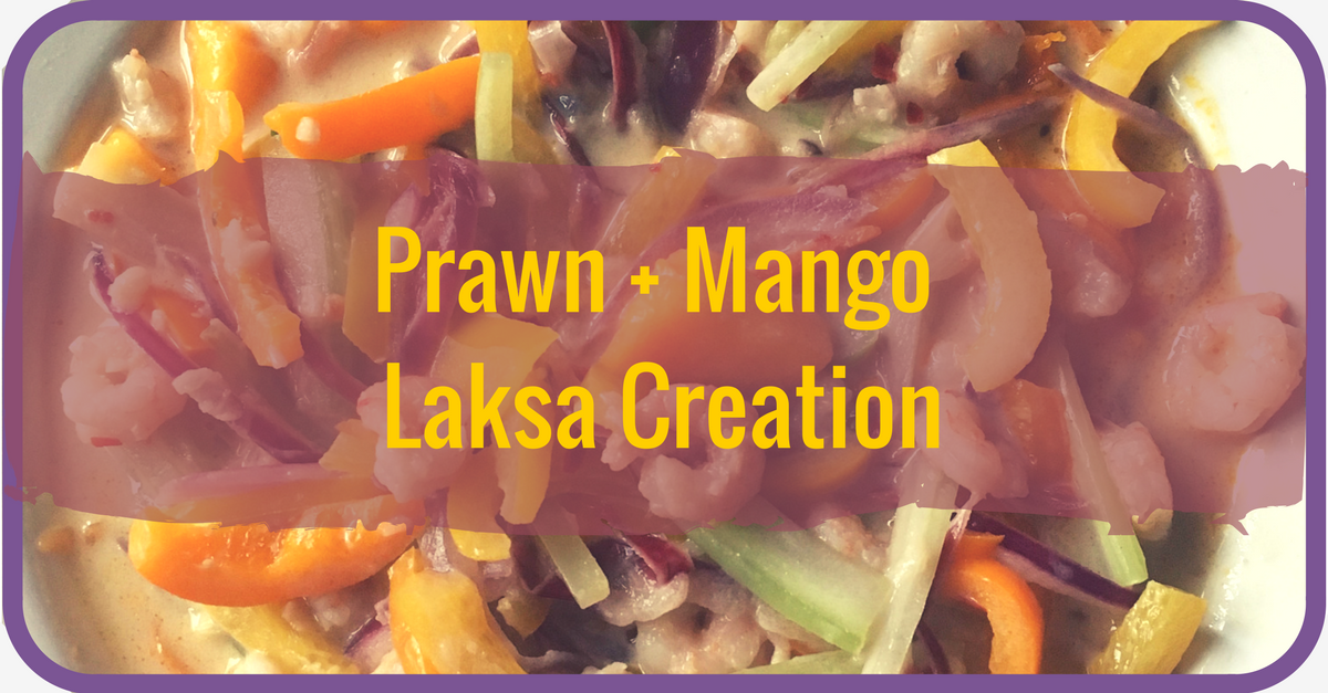 Prawn + Mango Laksa-type Creation