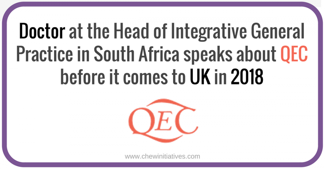 Doctor Nye, Head of Integrative General Practice in S.A. explains QEC