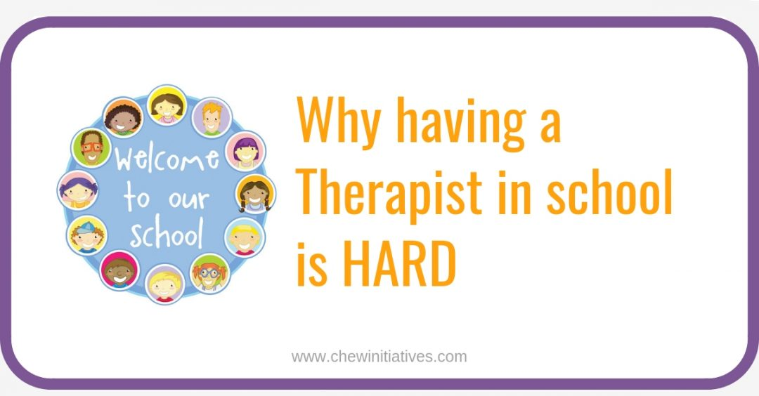 5 Reasons why having a Therapist in school is harder than it seems